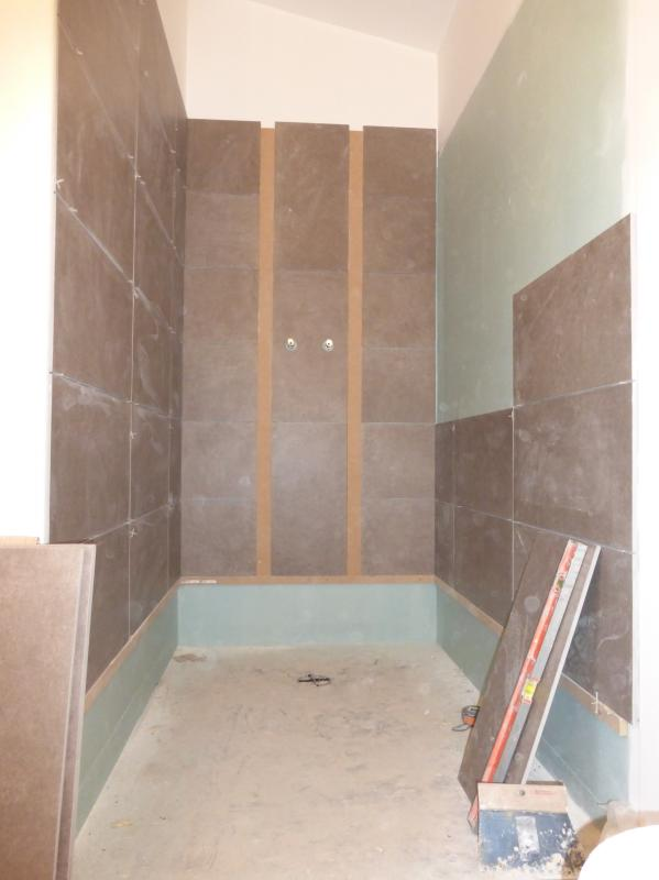 Construction d 39 un agrandissement montmorency taverny saint leu la foret - Construction d une douche ...